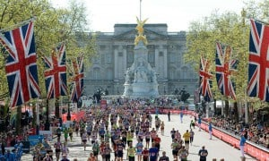 La maratona di Londra, uno degli eventi sportivi londinesi più importanti