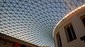 Il British Museum di Londra, uno dei più grandi musei al mondo