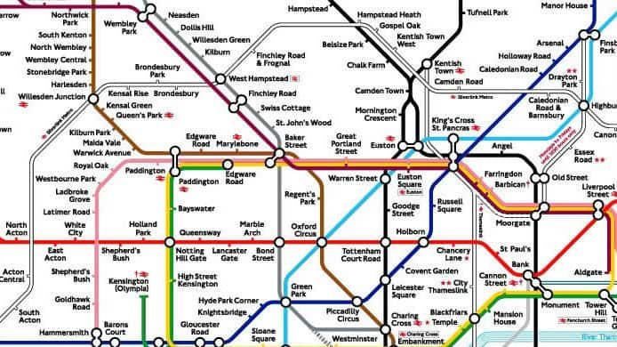 Metropolitana Di Londra Cartina.Le Mappe Di Londra Mylondra