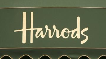 i grandi magazzini Harrods di Londra