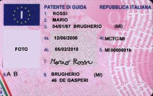 guida patente italiana londra