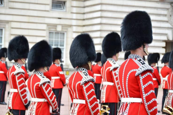 Buckingham Palace il palazzo della Regina