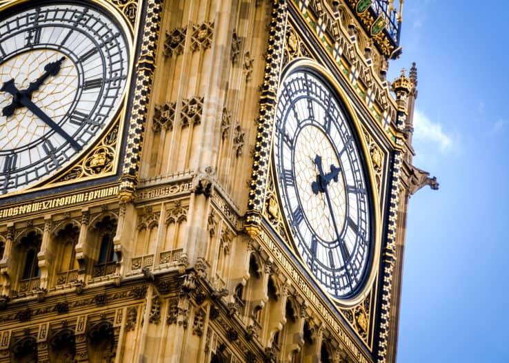 Il big Ben e il palazzo di Westminster a Londra