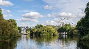 St James Park, il più antico dei parchi reali