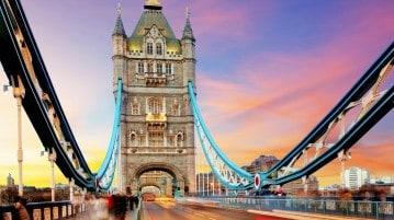 I dieci migliori panorami di Londra. Dal Tower bridge la vista è spettacolare