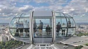 Se volete visitare Londra in due giorni un giro sul London Eye è d'obbligo!