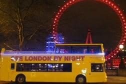 Londra di notte, i tour con See London by night. Biglietti on line