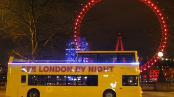 Londra di notte, i tour con See London by night. Biglietti on line