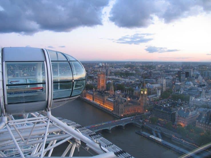 Il London Eye - Sicuramente una delle attrazioni da vedere inell'itinerario di 2 giorni
