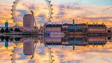 Il London Eye a Londra