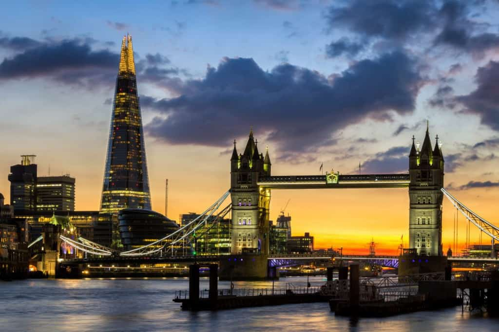 Lo Shard di Londra. gratis con il London Pass