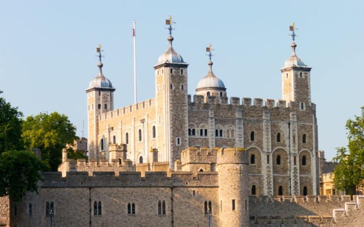 La Torre di Londra, una delle attrazioni più visitate