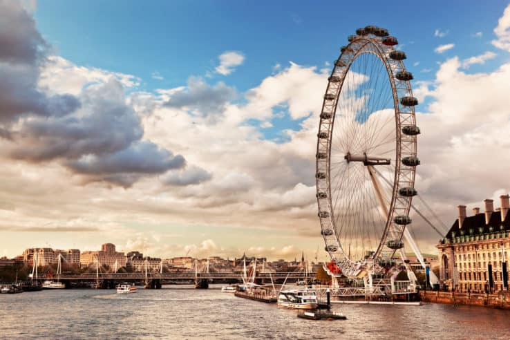 Il London Eye, tra i 10 posti da visitare a Londra