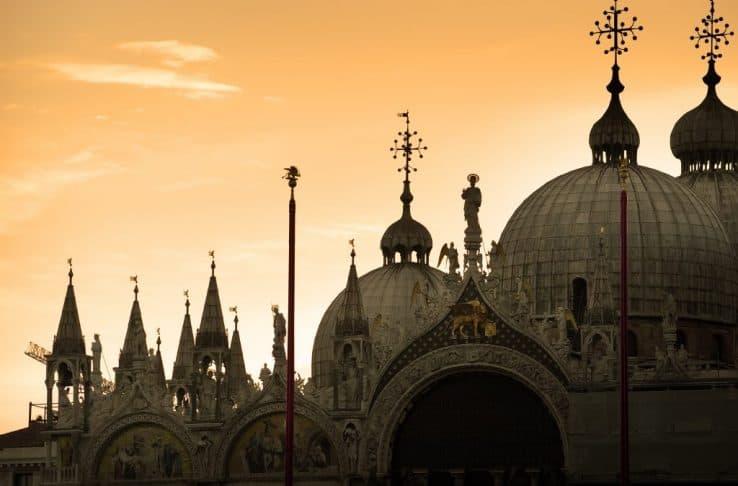 Le cupole della Basilica di San Marco a Venezia