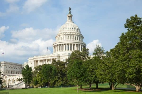 La cupola del Campidoglio di Washington